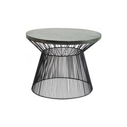 Table basse wire taille kare design table basse d for Table basse grande taille