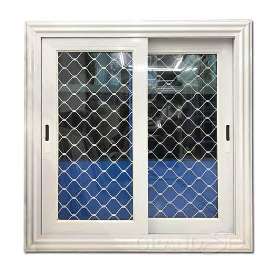 Customized Residential House Exterior Burglarproof Slider Window