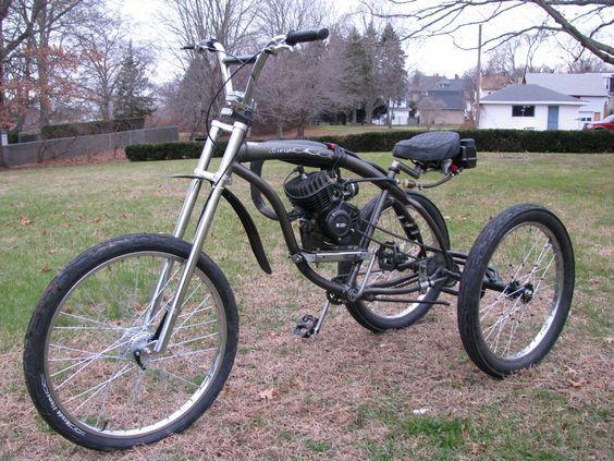 Build This Bike Powered Bicycle Motorised Bike Bicycle Engine