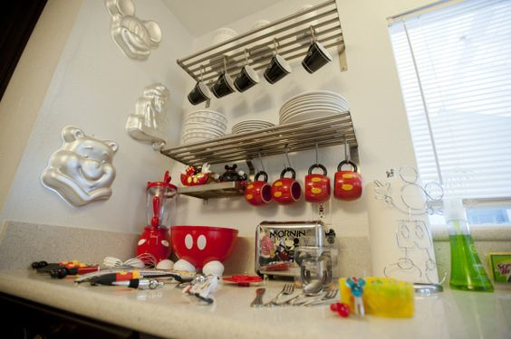 Check out this amazing Disney rental home. There are mouse ears everywhere you turn!