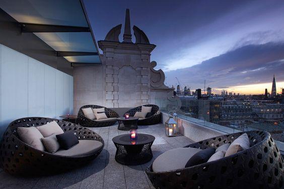 Radio Rooftop Bar à Londres - Bestof 30 photos de luxe du mois de Juillet - Luxury Design: