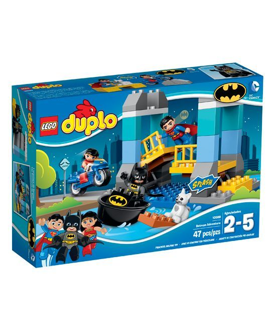 Designed with big bricks to accommodate little hands, this LEGO DUPLO set  features