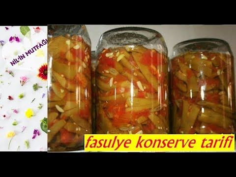 Taze Fasulye Konservesi Puf Noktalariyla Birlikte How To Can Canned Green Beans Youtube Taze Fasulye Fasulye Konserve