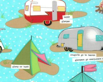 Popular items for camping fabric on Etsy