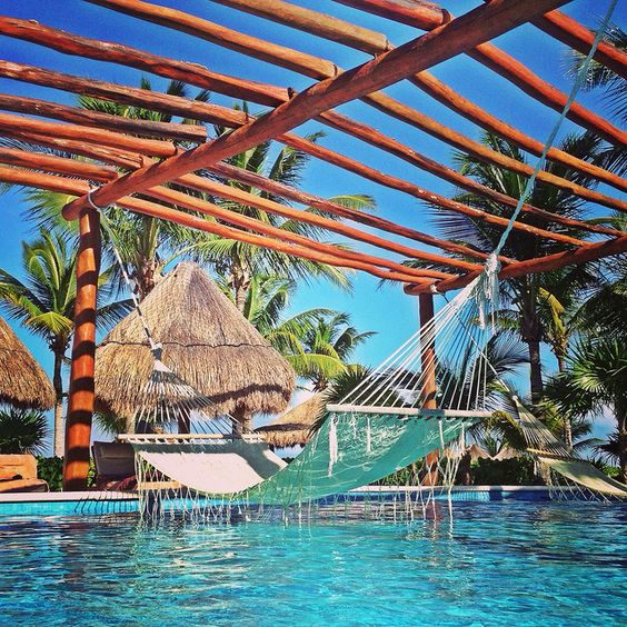 Excellence Playa Mujeres All-Inclusive Resort, Mexico --- I see myself in that hammock :)