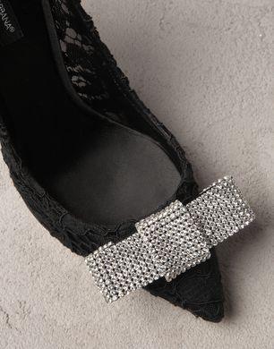 AUDREY LACE BELLUCCI K COURT SHOE - Closed-toe slip-ons  - Dolce&Gabbana - Summer 2014