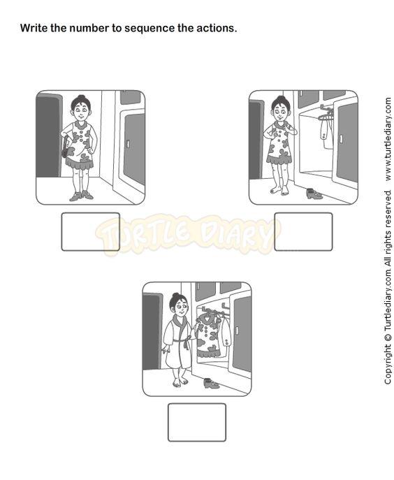 Picture Sequence Worksheet 18 eslefl Worksheets kindergarten – Kindergarten Story Sequencing Worksheets
