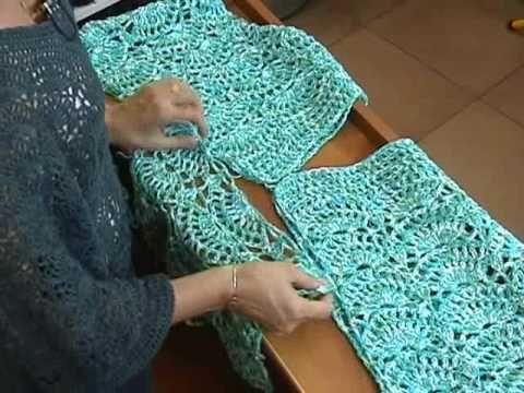 Patron blusa ganchillo crochet - Imagui