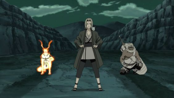 Tsunade The 5th Hokage, Naruto and Killer Bee