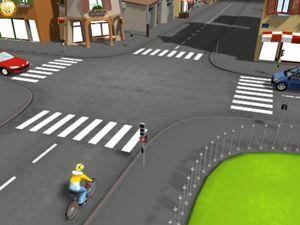 Le cycliste aux intersections - Éducation et sensibilisation à la sécurité…