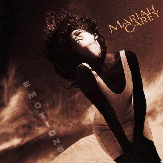 Mariah Carey – Emotions (single cover art)