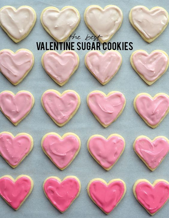 Sugar cookie recipes, Sugar and Valentines on Pinterest