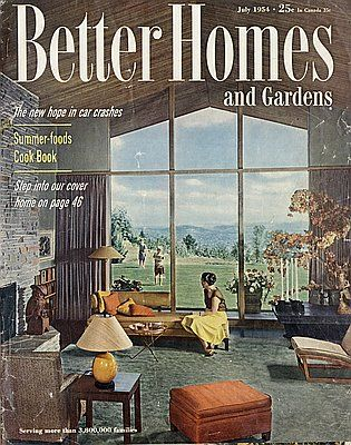 Northwest Modern: Better Homes and Gardens, 1956