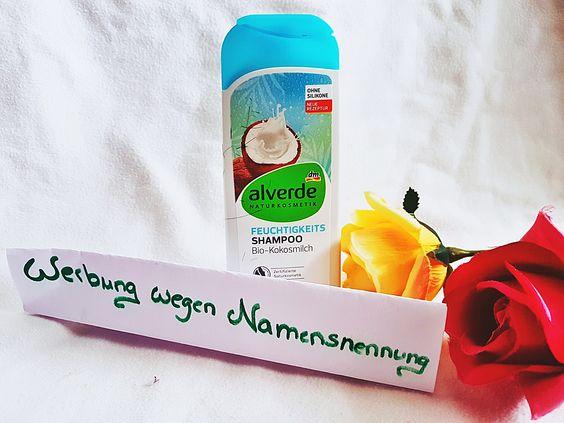 Alverde Feuchtigkeits-Shampoo Bio-Kokosmilch