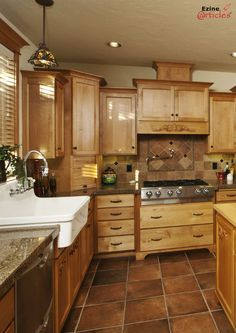 Ideas for remodeling mobile home kitchens.