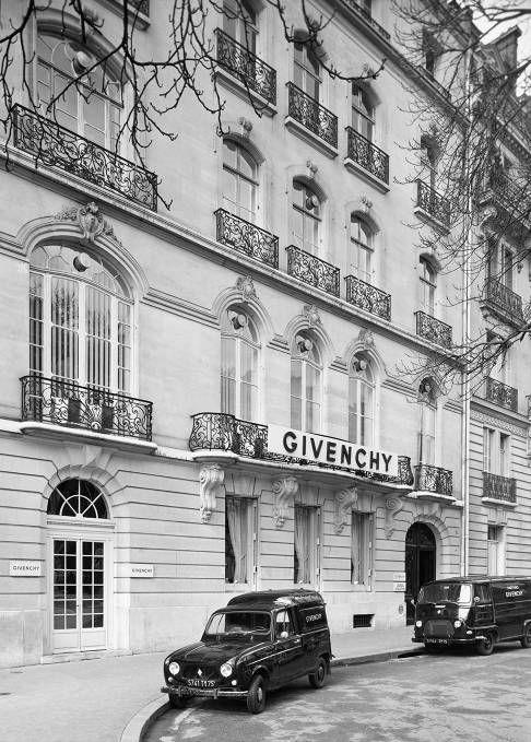 La Maison Givenchy en 1952