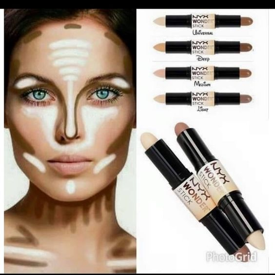 Nix wonder stick Universal color, used to highlight and contour. I tried it once , otherwise brand new! NYX Makeup Bronzer