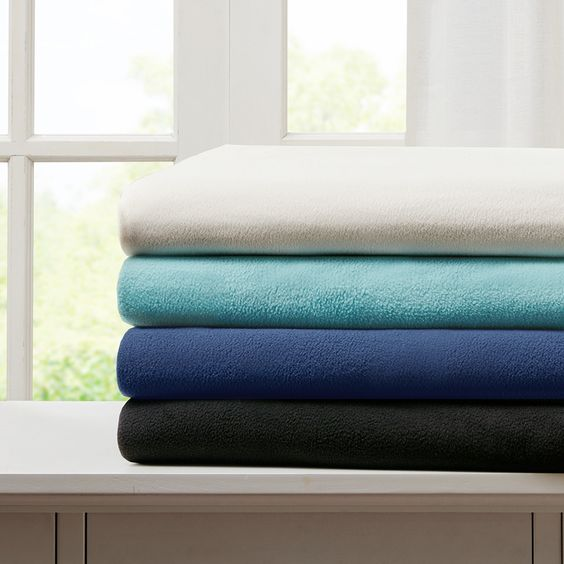 3M Scotchgard Micro Fleece Blanket