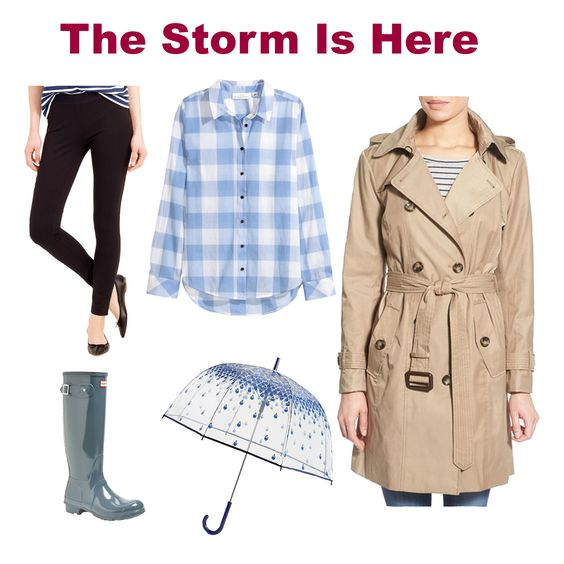 Dots N Bows: May Showers #HeavyRain #RainyDay #OutfitIdea #Blogger #Blogging #FBlogger #Fashion #Clothing