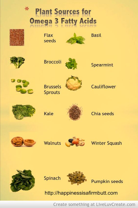 Plant Sources For Omega 3 Fatty Acids Useful Tips And