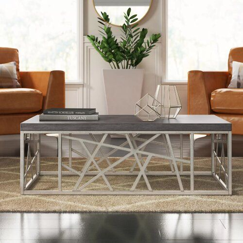 Kyzer Coffee Table Reviews Allmodern Coffee Table Modern Furniture Living Room Contemporary Coffee Table