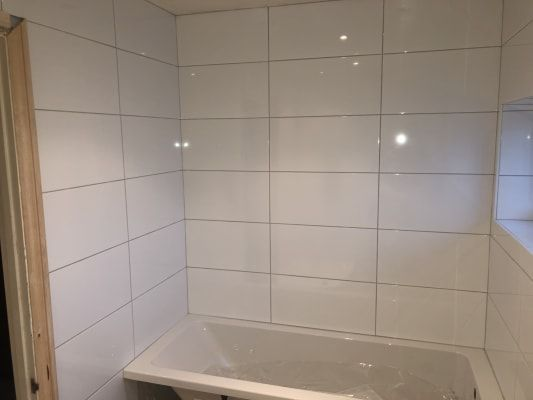 Wickes Gloss White Ceramic Wall Tile 600x300mm In 2020 White