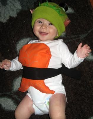 sushi costume baby - Google Search