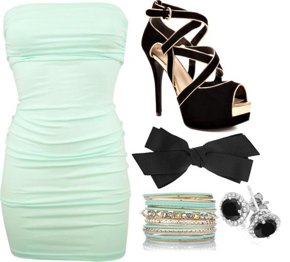 U0026quot;night club outfit...u0026quot; by lindsey-doll liked on Polyvore | Polyvore | Pinterest | Colors Tans ...