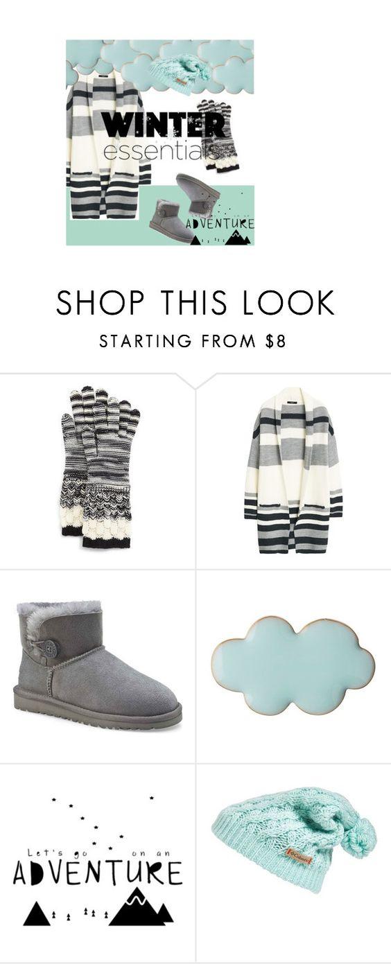 """Winter Essentials"" by scallydragon ❤ liked on Polyvore featuring moda, Missoni, MANGO, UGG Australia, Columbia, contestentry, winterstyle, winteressentials ve winter2015"