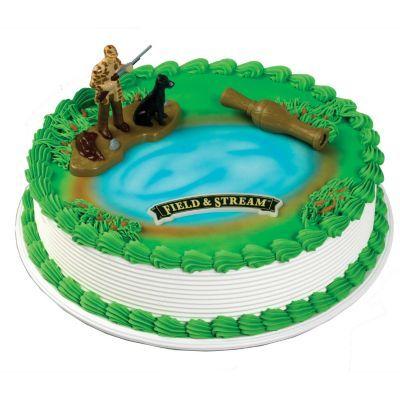 Hunting Scene Cake Decorations : Hunting Figurines for Cakes ... hunter lab figurine 1 ...