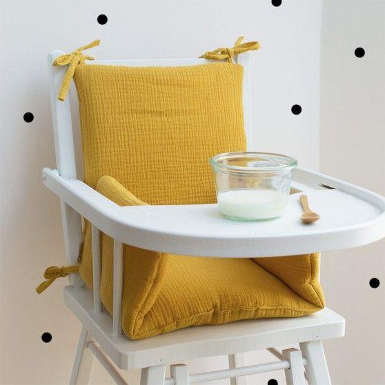 Cocoeko Les Essentiels Pour Bebe Crees Et Fabriques En France Coussin Chaise Haute Chaise Haute Coussin Chaise