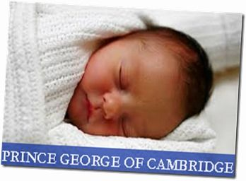 Prince George of Cambridge - The Royal Baby - Aw...such a cutie pie! And just because he's a prince, either - that's one genuinely cute baby :D