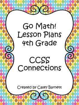 Lesson Plan Bundle 4th Grade 1st 6 Weeks Editable Go