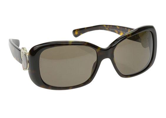 Chanel Tortoise Shell 5191 Bouton Sunglasses