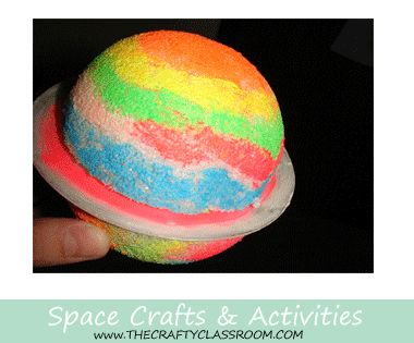 craft ideas for space theme space crafts for looks space 6236