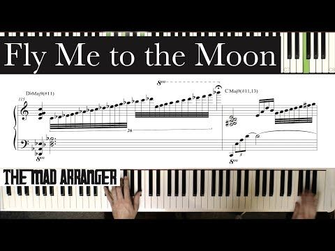 Jacob Koller Fly Me To The Moon Advanced Jazz Piano Cover With