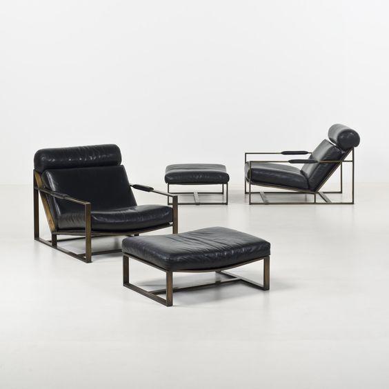 Milo Baughman for Thayer Coggin Reclining chairs 1963