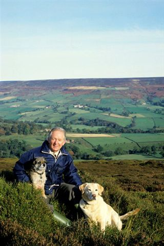 James Alfred Wight OBE, FRCVS (1916-1995). He was James Herriot from 'All Creatures Great and Small'.