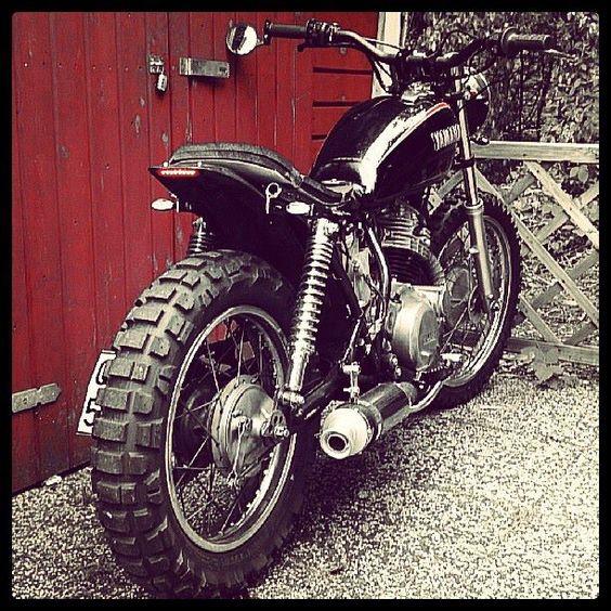 My projekt bike, Yamaha SR 250