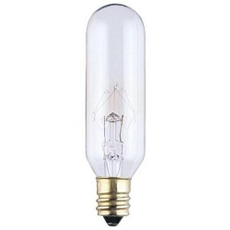 25 Watt T6 Clear Candle Base Bulb