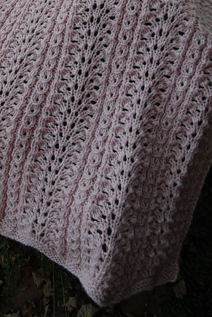 Jared Flood Knitting Patterns : Shale Baby Blanket, pattern by Jared Flood Knit in Lion Brand Wool-Ease My ...