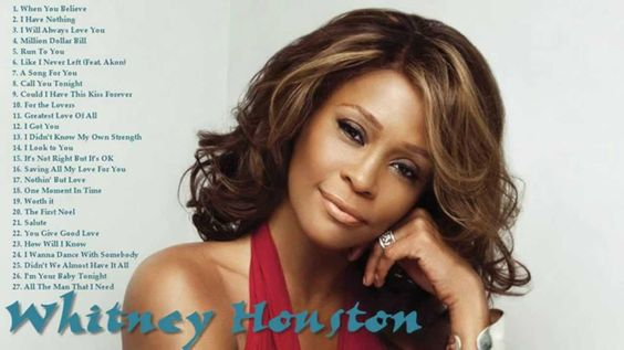 "<3 RIP Whitney Houston <3 (1963 – 2012) You sang to us for ""one moment in time"" and it was over too soon."