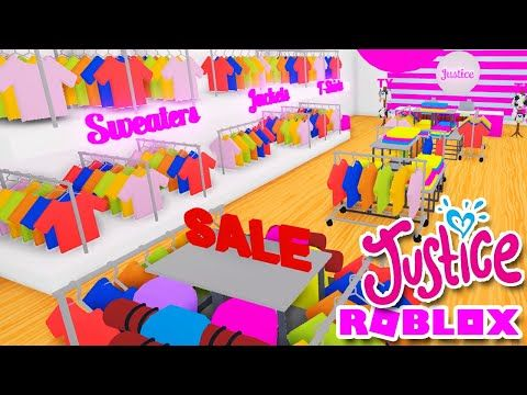 Justice Clothing Store Speed Build In Adopt Me Roblox Update Shop Youtube Cute Room Ideas My Roblox Adoption