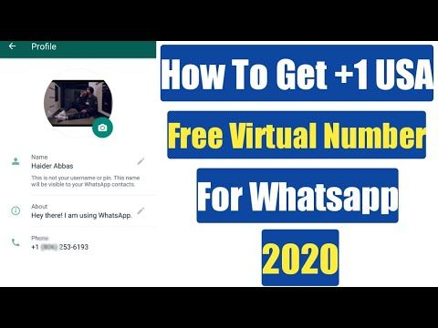 How To Create Fake Whatsapp Account With Fake Number 2020 Sw Tricks In 2020 Fake Number How To Get Science And Technology