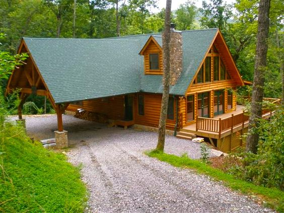 Blue ridge log cabins modular log cabin and log cabins on for Log home plans tennessee