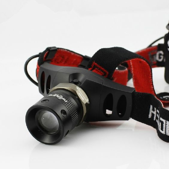 Petzl Headlamp Cree Q5 LED Rechargeable Flashlight For Outdoor Sport