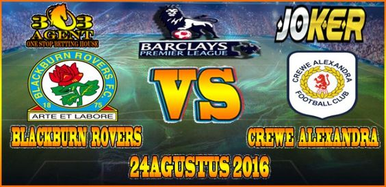 Prediksi Skore Akurat Blackburn Rovers FC vs Crewe Alexandra FC 24 Agustus 2016