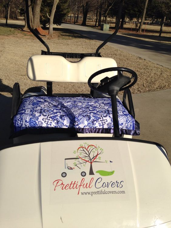 Golf Cart Seat Cover by PrettifulCovers on Etsy, $35.00