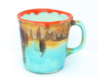Ronda plantador de cerámica maceta suculenta por McCheeksMayhem