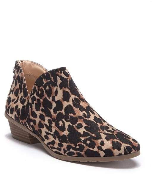 nordstrom rack leopard booties